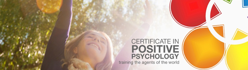 Certificate in Positive Psychology Banner 1000x285